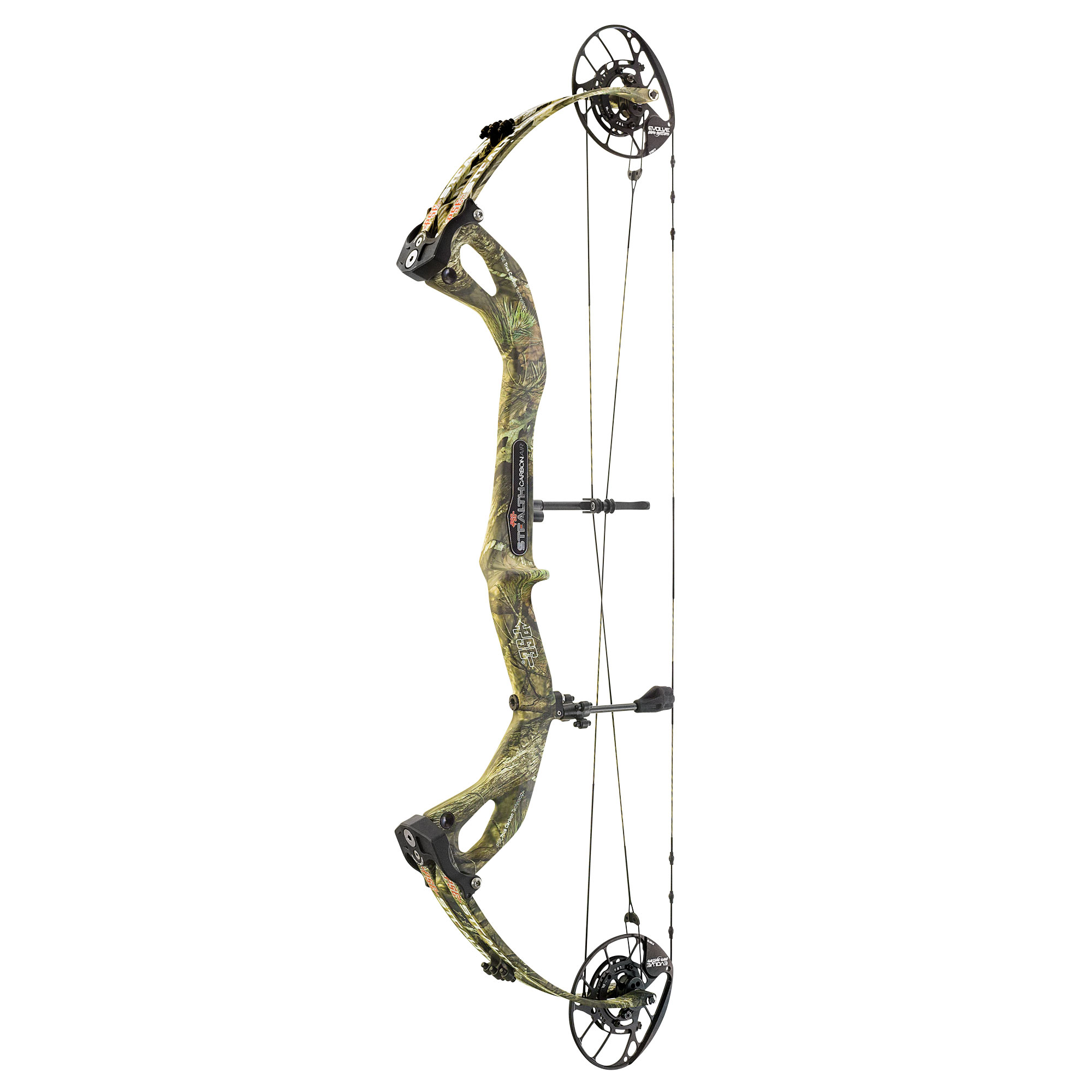 2020 PSE Carbon Air Stealth 35 EC in Mossy Oak Country